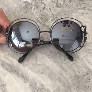 Roberto Cavalli Round Sunglasses